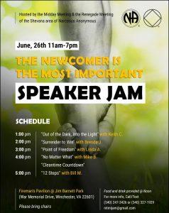 Shevana speakerjam @ Fireman's Pavilion | Winchester | Virginia | United States